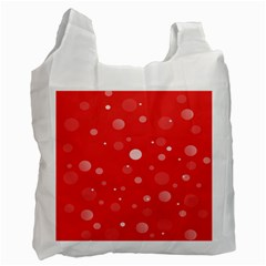 Decorative dots pattern Recycle Bag (Two Side)
