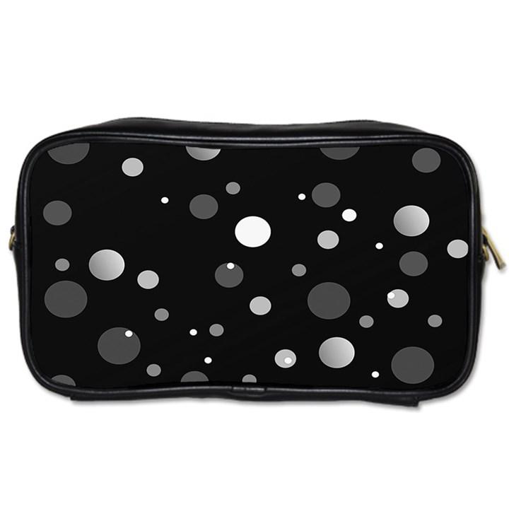 Decorative dots pattern Toiletries Bags 2-Side