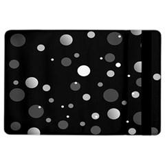 Decorative dots pattern iPad Air 2 Flip