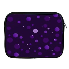 Decorative dots pattern Apple iPad 2/3/4 Zipper Cases