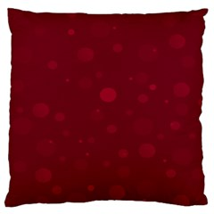 Decorative dots pattern Large Flano Cushion Case (One Side)