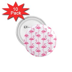 Pink Flamingos Pattern 1 75  Buttons (10 Pack)