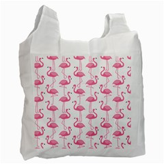 Pink Flamingos Pattern Recycle Bag (Two Side)