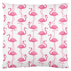 Pink Flamingos Pattern Large Cushion Case (one Side)