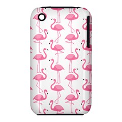Pink Flamingos Pattern Iphone 3s/3gs