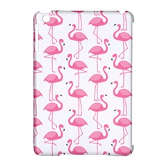 Pink Flamingos Pattern Apple iPad Mini Hardshell Case (Compatible with Smart Cover)