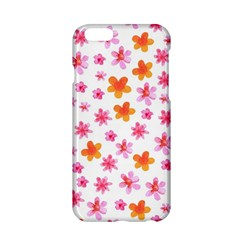 Watercolor Summer Flowers Pattern Apple iPhone 6/6S Hardshell Case