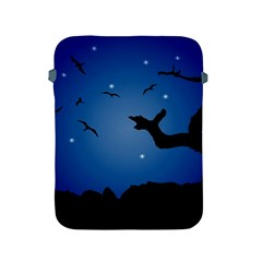 Nightscape Landscape Illustration Apple iPad 2/3/4 Protective Soft Cases