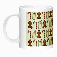 Christmas Trio Pattern Night Luminous Mugs