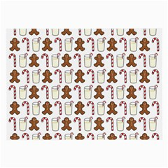 Christmas Trio Pattern Large Glasses Cloth (2-Side)