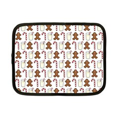 Christmas Trio Pattern Netbook Case (small)
