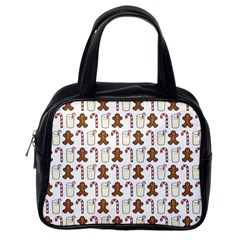 Christmas Trio Pattern Classic Handbags (One Side)