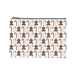 Christmas Trio Pattern Cosmetic Bag (large)