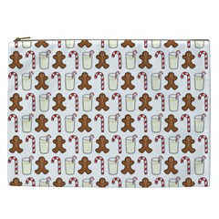 Christmas Trio Pattern Cosmetic Bag (xxl)