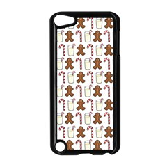 Christmas Trio Pattern Apple iPod Touch 5 Case (Black)