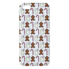 Christmas Trio Pattern Apple Iphone 5 Premium Hardshell Case