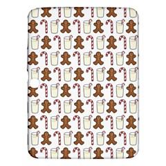 Christmas Trio Pattern Samsung Galaxy Tab 3 (10 1 ) P5200 Hardshell Case