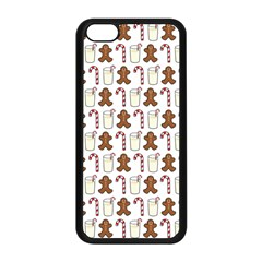 Christmas Trio Pattern Apple Iphone 5c Seamless Case (black)