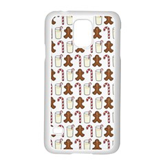 Christmas Trio Pattern Samsung Galaxy S5 Case (white)