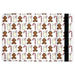 Christmas Trio Pattern Ipad Air 2 Flip