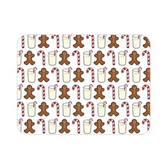 Christmas Trio Pattern Double Sided Flano Blanket (mini)