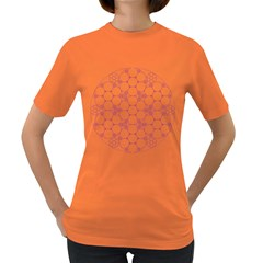 Density Multi Dimensional Gravity Analogy Fractal Circles Women s Dark T-Shirt