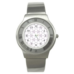 Density Multi Dimensional Gravity Analogy Fractal Circles Stainless Steel Watch
