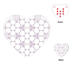 Density Multi Dimensional Gravity Analogy Fractal Circles Playing Cards (heart)
