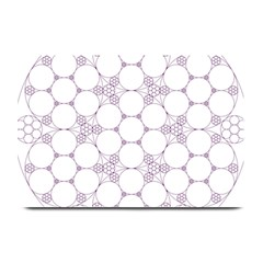 Density Multi Dimensional Gravity Analogy Fractal Circles Plate Mats