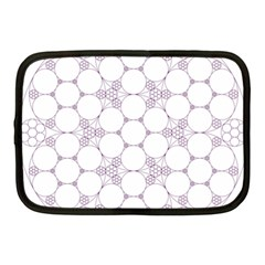Density Multi Dimensional Gravity Analogy Fractal Circles Netbook Case (medium)