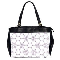 Density Multi Dimensional Gravity Analogy Fractal Circles Office Handbags (2 Sides)