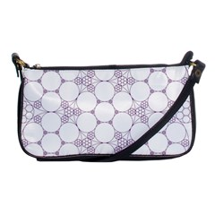 Density Multi Dimensional Gravity Analogy Fractal Circles Shoulder Clutch Bags