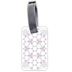 Density Multi Dimensional Gravity Analogy Fractal Circles Luggage Tags (Two Sides)