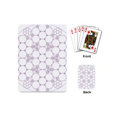Density Multi Dimensional Gravity Analogy Fractal Circles Playing Cards (mini)