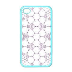Density Multi Dimensional Gravity Analogy Fractal Circles Apple Iphone 4 Case (color)