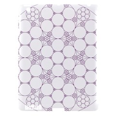 Density Multi Dimensional Gravity Analogy Fractal Circles Apple iPad 3/4 Hardshell Case (Compatible with Smart Cover)