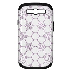 Density Multi Dimensional Gravity Analogy Fractal Circles Samsung Galaxy S Iii Hardshell Case (pc+silicone)