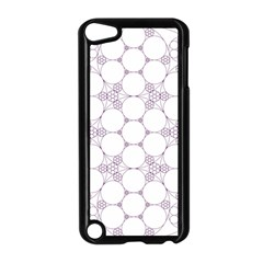 Density Multi Dimensional Gravity Analogy Fractal Circles Apple Ipod Touch 5 Case (black)
