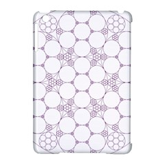 Density Multi Dimensional Gravity Analogy Fractal Circles Apple Ipad Mini Hardshell Case (compatible With Smart Cover)