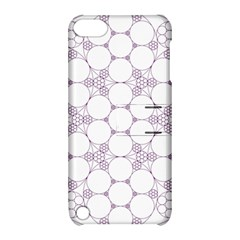 Density Multi Dimensional Gravity Analogy Fractal Circles Apple Ipod Touch 5 Hardshell Case With Stand