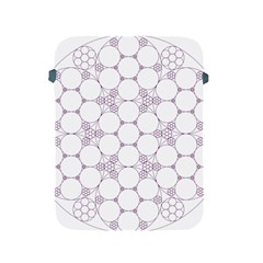 Density Multi Dimensional Gravity Analogy Fractal Circles Apple Ipad 2/3/4 Protective Soft Cases