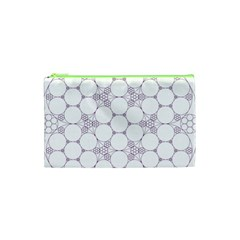 Density Multi Dimensional Gravity Analogy Fractal Circles Cosmetic Bag (XS)