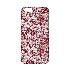 Transparent Lace With Flowers Decoration Apple Iphone 6/6s Hardshell Case