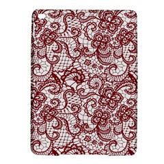 Transparent Lace With Flowers Decoration Ipad Air 2 Hardshell Cases