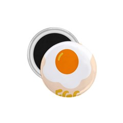 Egg Eating Chicken Omelette Food 1.75  Magnets