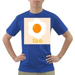 Egg Eating Chicken Omelette Food Dark T-Shirt