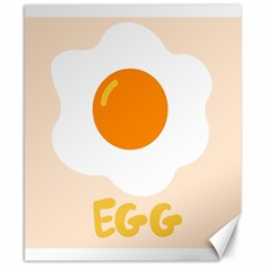 Egg Eating Chicken Omelette Food Canvas 20  X 24