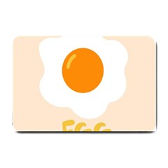 Egg Eating Chicken Omelette Food Small Doormat