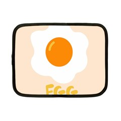 Egg Eating Chicken Omelette Food Netbook Case (small)