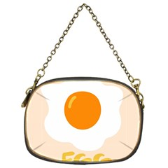 Egg Eating Chicken Omelette Food Chain Purses (one Side)